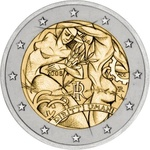 "Itaalia 2008.2 euro ""Human Rights"", UNC"