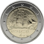 Eesti 2 euro 2020.a. First Antarctic Expedition UNC