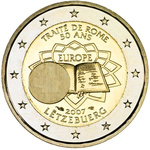 Luksemburg 2 euro 2007a. 50 years of Treaty of Rome UNC