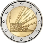Portugal 2 euro 2021.a. Presidency of the Council of the European Union, UNC