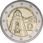 Portugal 2 euro 2013, Clerigos tower, UNC