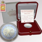"Monaco 2 euro 2017 ""Carabiniers' of the Prince"" proof"