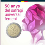 Andorra 2 euro 2020 50 years of Universal Female Suffrage