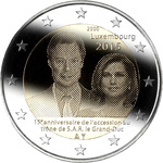 LUKSEMBURG 2 EURO 2015, 15th Anniversary of the Accession UNC