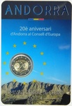 Andorra 2 euro 2014 a. Council of Europe UNC