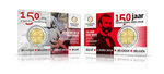 Belgia 2 Euro 2014 Red Cross, BU (Tiraaz 287 500)