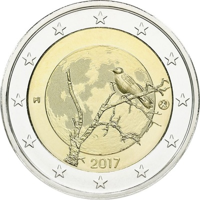 Soome 2 euro 2017 The Finnish nature UNC